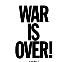war is over by 123lisme