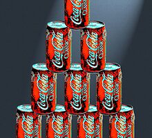 Coca Cola Pyramid by mississippimud