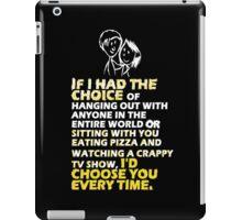 Words of love iPad Case/Skin