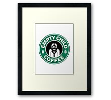 DR COFFEE 4 Framed Print