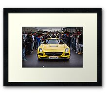 Mercedes SLS AMG  Framed Print