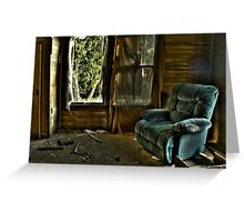 Recliner Memories Greeting Card