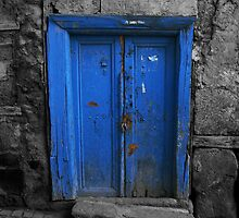 Blue Door In The Castle by Josh Wentz