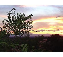 Chico Sunset III Photographic Print
