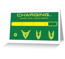 CHARGING CELL Greeting Card