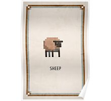 Pixel RPG - Sheep Poster