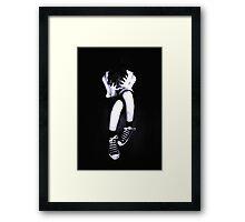Angst.... Framed Print