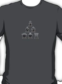 Chess - Black triangle T-Shirt