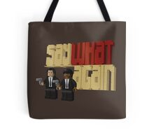 Pulp Bricktion Tote Bag