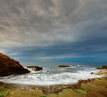 Mediterranean storm by Patrick Morand