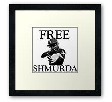 Free Shmurda Framed Print