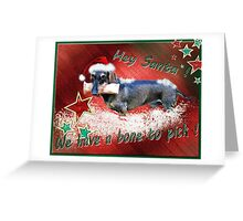 The Somewhat Different Christmas Card Greeting Card