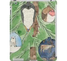 Animal Christmas Tree Baubles iPad Case/Skin