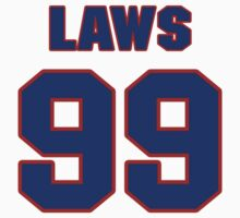 National football player Trevor Laws jersey 99 by imsport