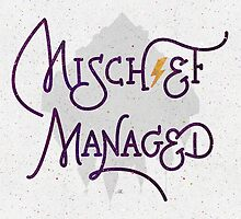 "Harry Potter ""Mischief Managed"" by earthlightened"