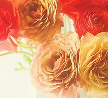 Ranunculus  by Debbra Obertanec