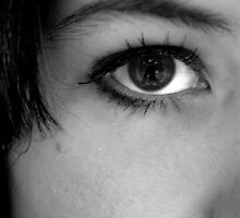 Window to the soul by Amy  Briner