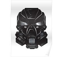 Black Metal Future Fighter Sci-fi Concept Art Poster