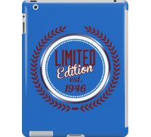 Limited Edition est.1946 iPad Case/Skin