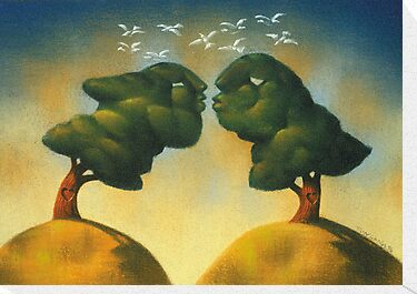 the kissing trees by jimondo