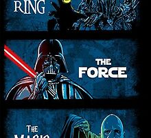 The Ring, The force, The magic by Zapii