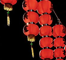 Red Lanterns by Artway