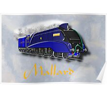 Mallard the Steam Locomotive - all products bar duvet Poster