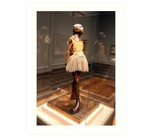 Degas's Little Dancer Aged Fourteen Art Print