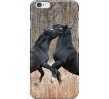 Horsing Around iPhone Case/Skin