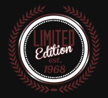 Limited Edition est.1968 by seazerka