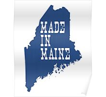 Made in Maine Poster