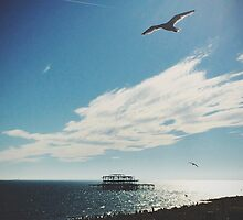 Brighton Seascape by MattHollinshead