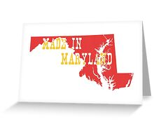 Made in Maryland Greeting Card
