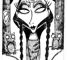The High Priestess by Hannah Chusid