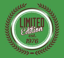 Limited Edition est.1976 by seazerka