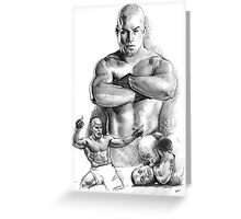 Tito Ortiz Greeting Card