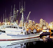Fishermans Warf by Carly Faust
