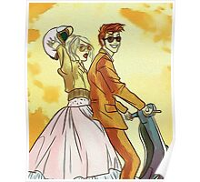 Rose and Tennant - 50's Style Doctor Who Poster