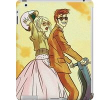 Rose and Tennant - 50's Style Doctor Who iPad Case/Skin