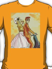 Rose and Tennant - 50's Style Doctor Who T-Shirt