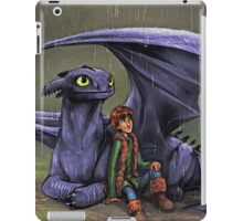 Hiccup and Toothless - How to Train Your Dragon iPad Case/Skin