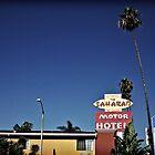 Saharan Motor Hotel by Paul Carson