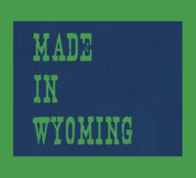 Made in Wyoming Kids Clothes