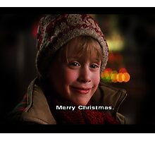 Merry Christmas Home Alone Photographic Print