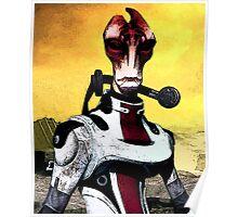 Mordin Mass Effect - Portrait Nerdy Poster