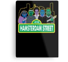 Hamsterdam Street Metal Print