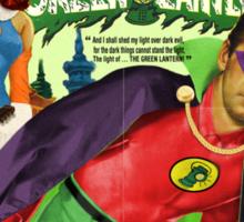 Alan Ladd as Green Lantern Movie Poster Sticker
