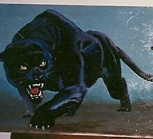 Black Panther painting by dummy