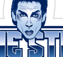 Blue Steel Sticker