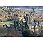 Margam Castle from Capel Mair by SimplyMrHill